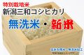 新米・特別栽培米新潟三和コシヒカリ無洗米