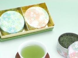 可愛い♪プチCAN(2缶)お茶ギフトセット