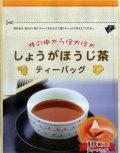 【メール便送料無料!】【飲みやすい三角ティーバッグ】からだの中からポッカポカ!しょうがほうじ茶