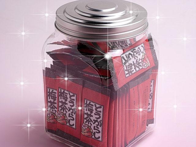 【お徳用!!卓上ボトル入り】カプサイシン入り!とうがらし梅茶(2gx50袋)