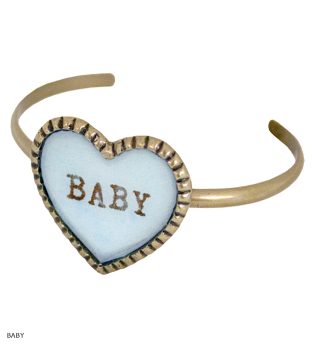 SWEET HEART big heart bangle