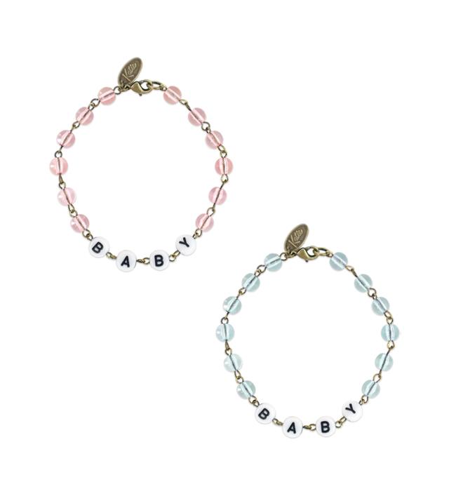 "ALPHABET BEADS ""BABY"" bracelet"