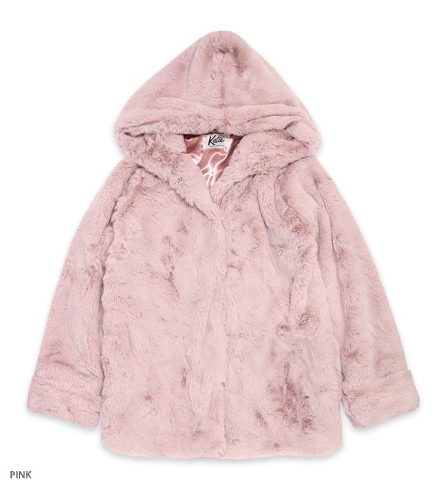 BUNNY CLUB hooded coat