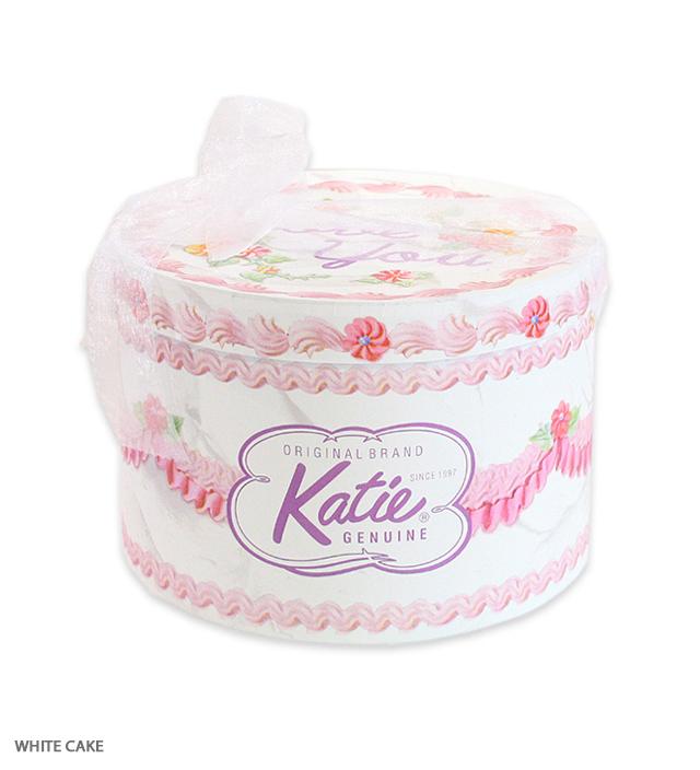 HAT BOX round WHITE CAKE