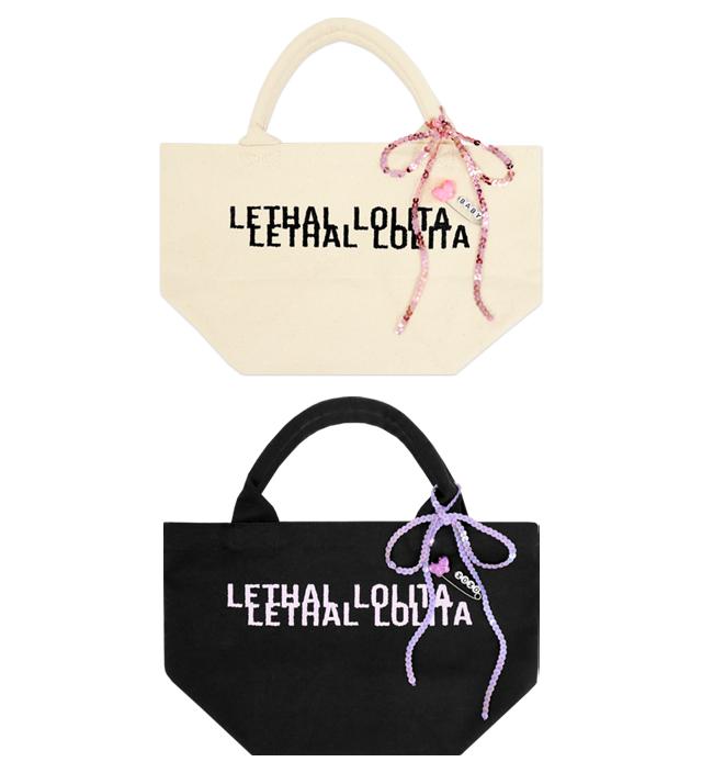 LETHAL LOLITA tote bag