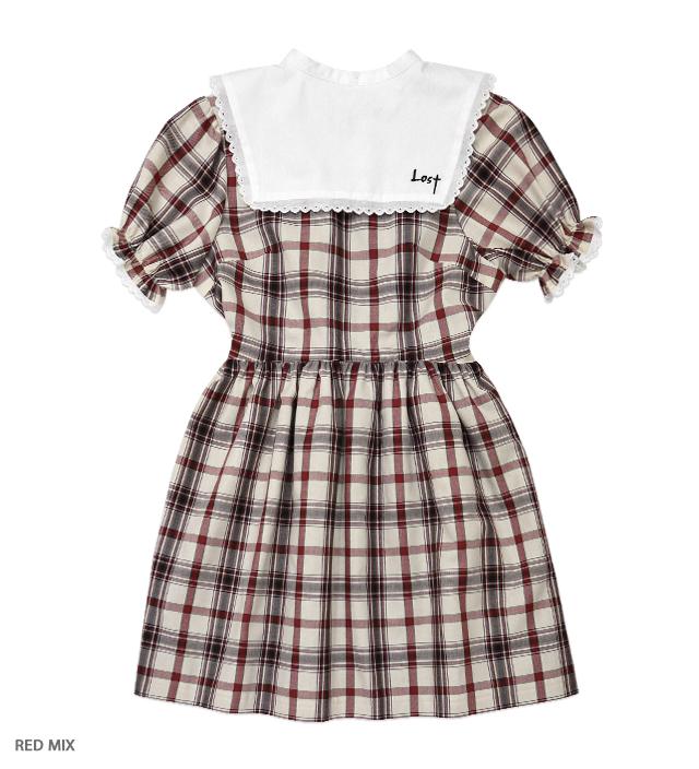 LOST puff dress