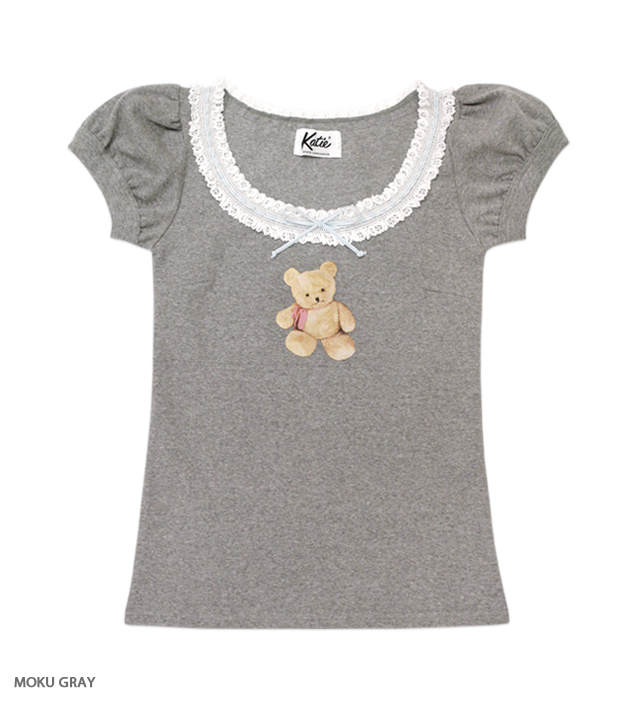LOVELY TEDDY puff tee