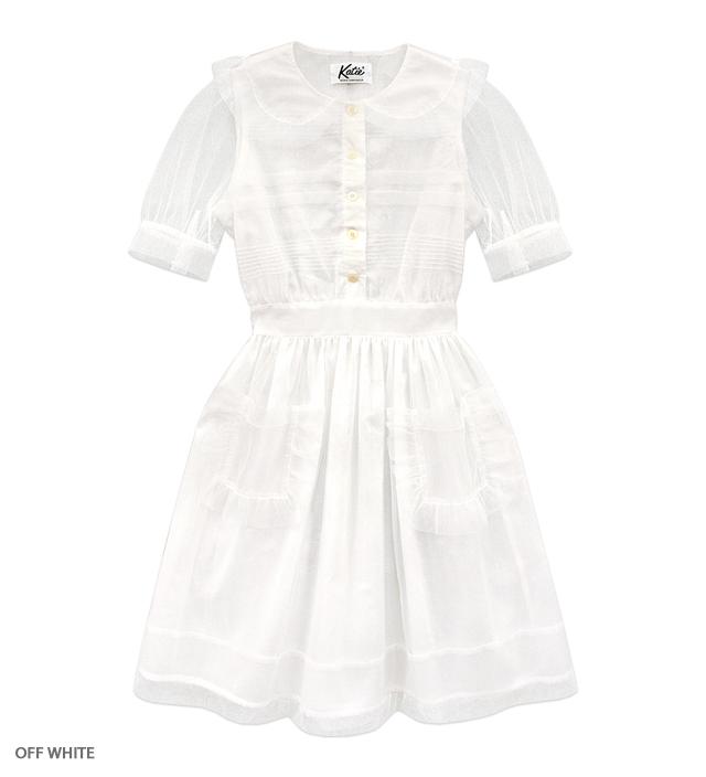 MIDNIGHT PRINCESS puff dress