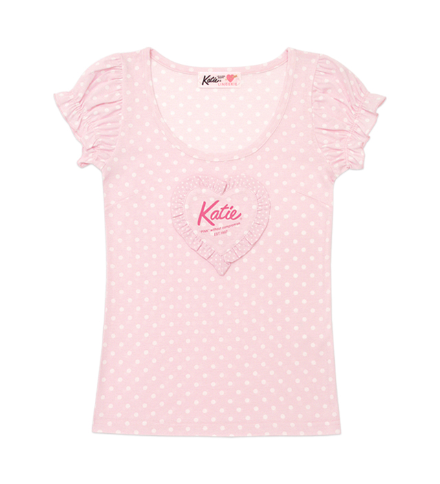 PINK UNIFORM puff tee