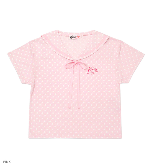 PINK UNIFORM sailor tee