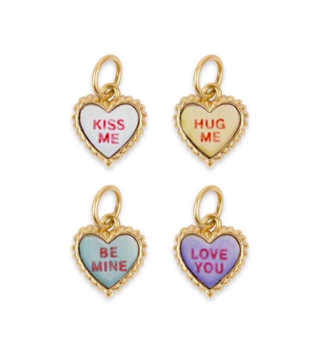 SWEET HEART petit heart necklace charm