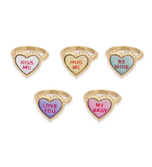 SWEET HEART petit heart ring