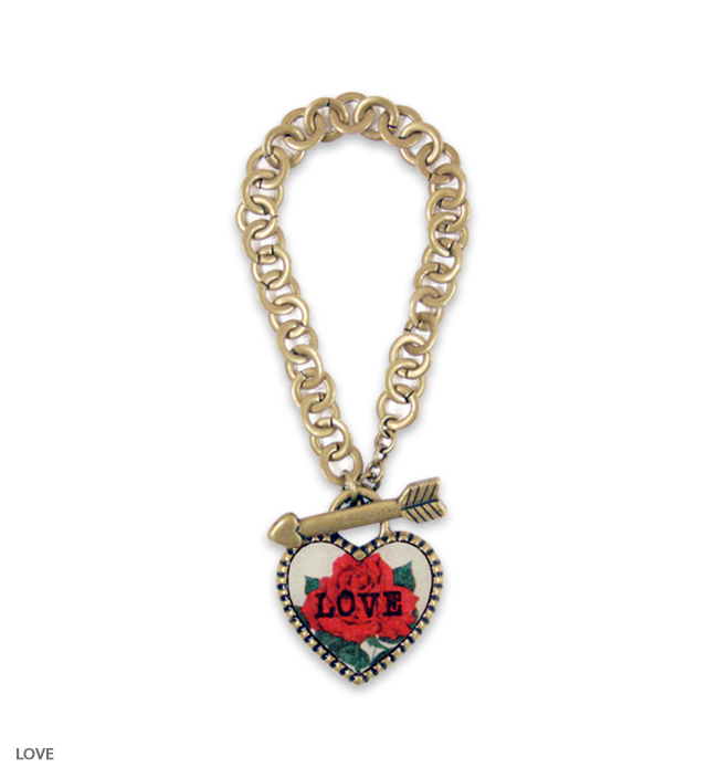 SWEET HEART big heart bracelet