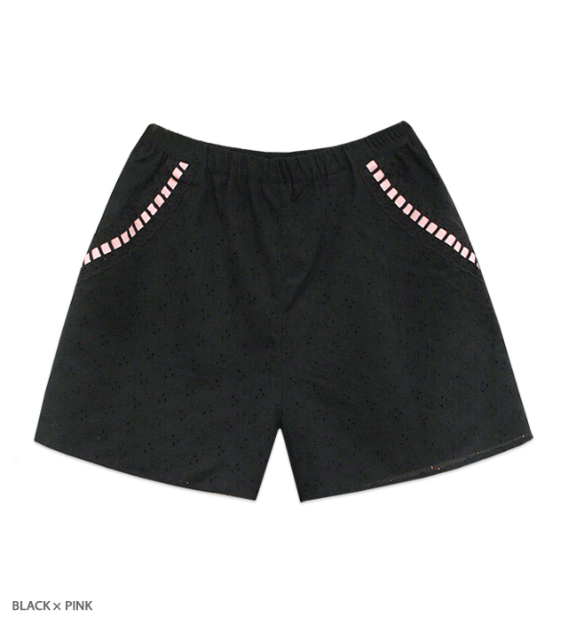 SUMMER HEROINE ribbon shorts