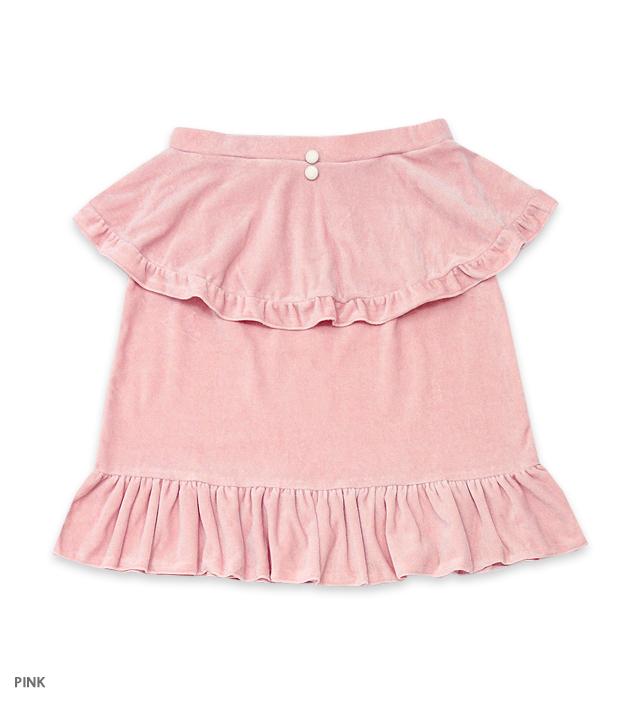 SWEET ROMANCE apron skirt