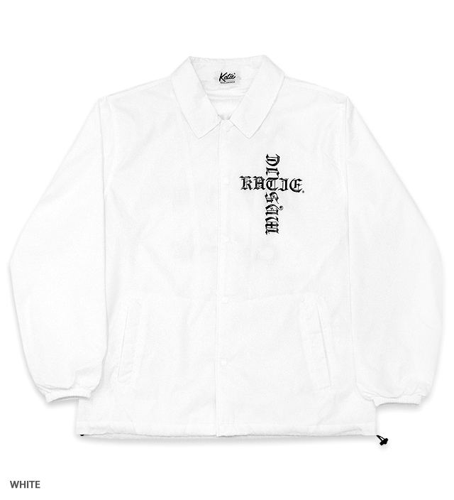 TRIBUTE HORROR LOGO coach jacket