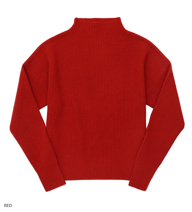WEEKDAY high neck pullover