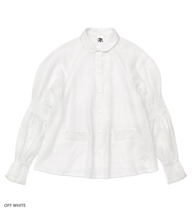 WHITE CULT horse ride blouse
