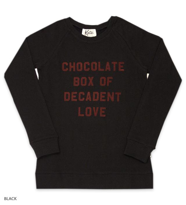 CHOCOLATE LOVE crew neck