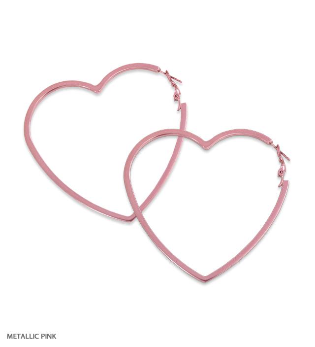 Katie x Bijou R.I heart hoop pierce