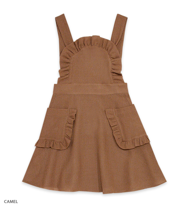 DOLL AGENT apron one-piece