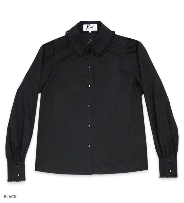 NO COUNTRY secretary blouse