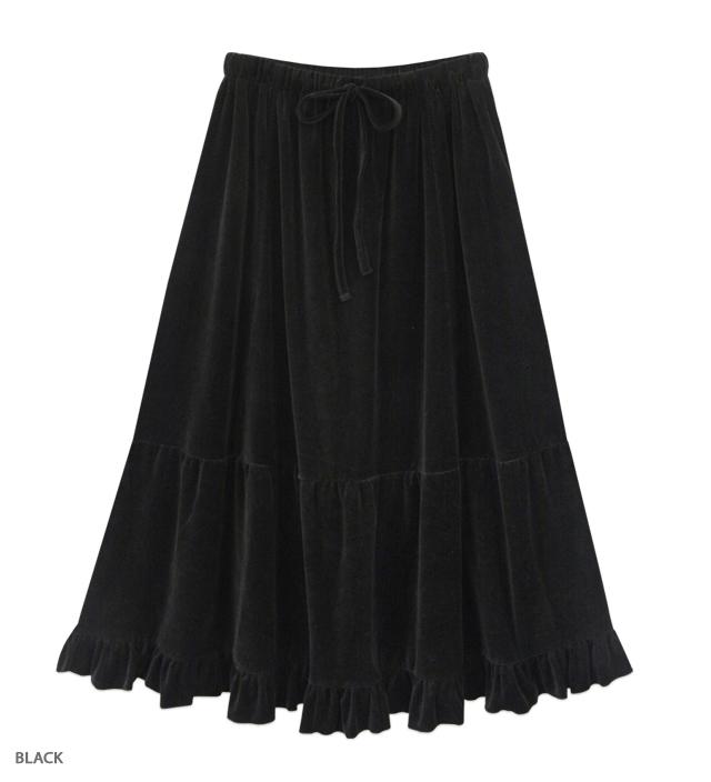 SWEET ROMANCE long skirt