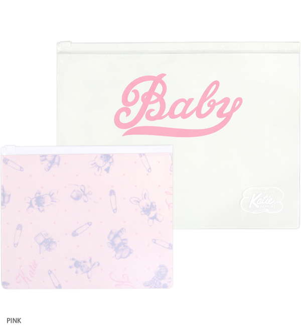 BABY TOYS clear pouch set of 2