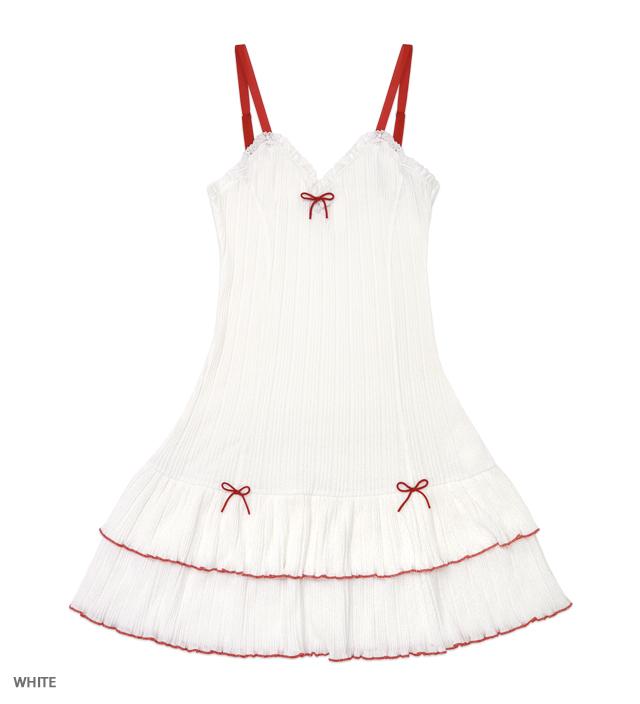 UNDER PRETTIES camisole one-piece 【再入荷】