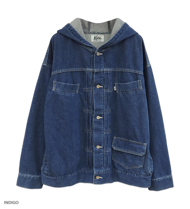 KATIE JEANS hooded jacket