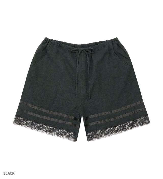 ASHBURY lacy short pants
