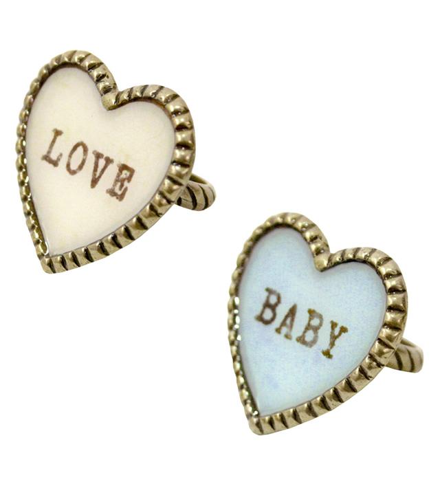 SWEET HEART big heart ring