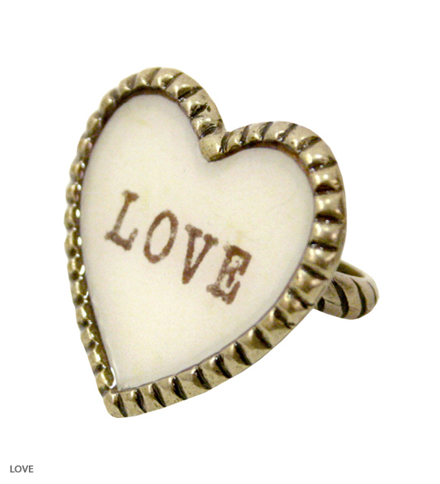 SWEET HEART big heart ring