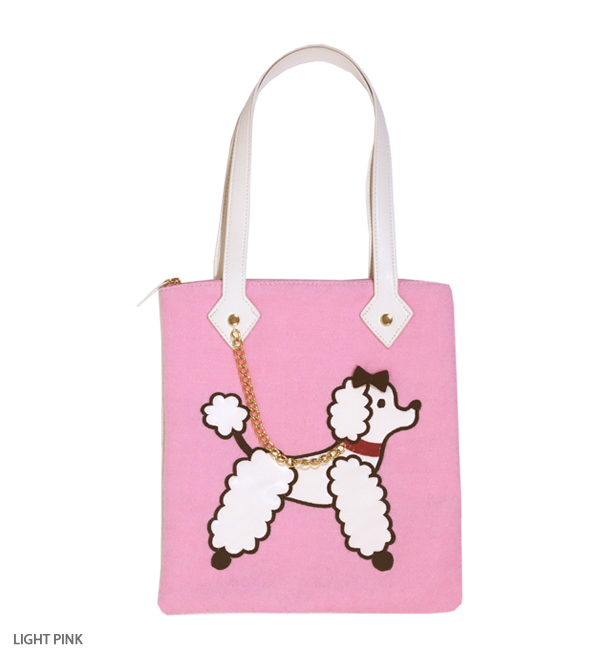 POODLE PARADE shoulder bag