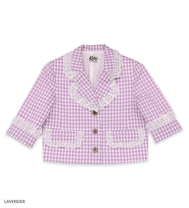 AMERICAN PIE frilled jacket