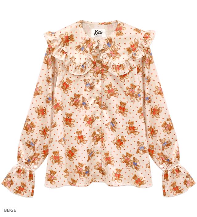 BEAR FAB pierrot blouse
