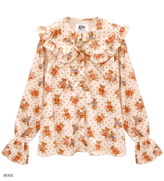 BEAR FAB pierrot blouse