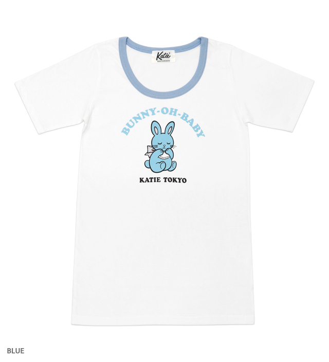 BUNNY-OH-BABY ringer tee