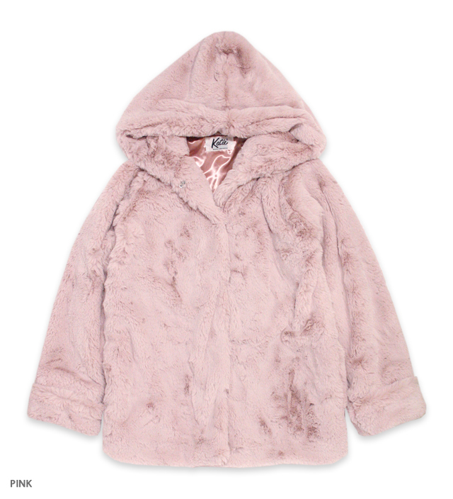 BUNNY CLUB hooded coat