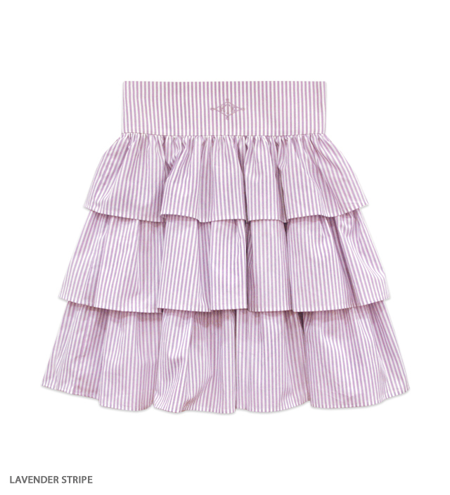CANDICE ruffle skirt