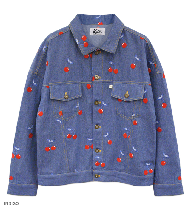 CHERRY DENIM jacket