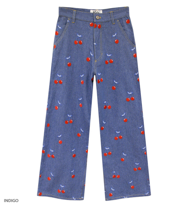 CHERRY DENIM pants