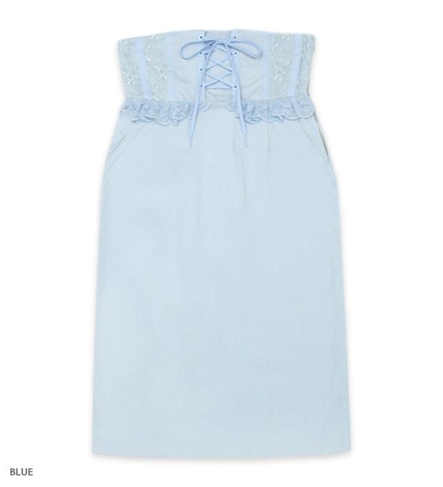 CORSETTI high waist skirt