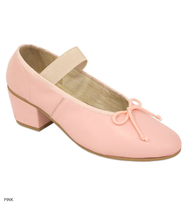 DANCE one-strap ballet shoes