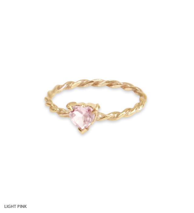 FAIRY HEART pinky ring