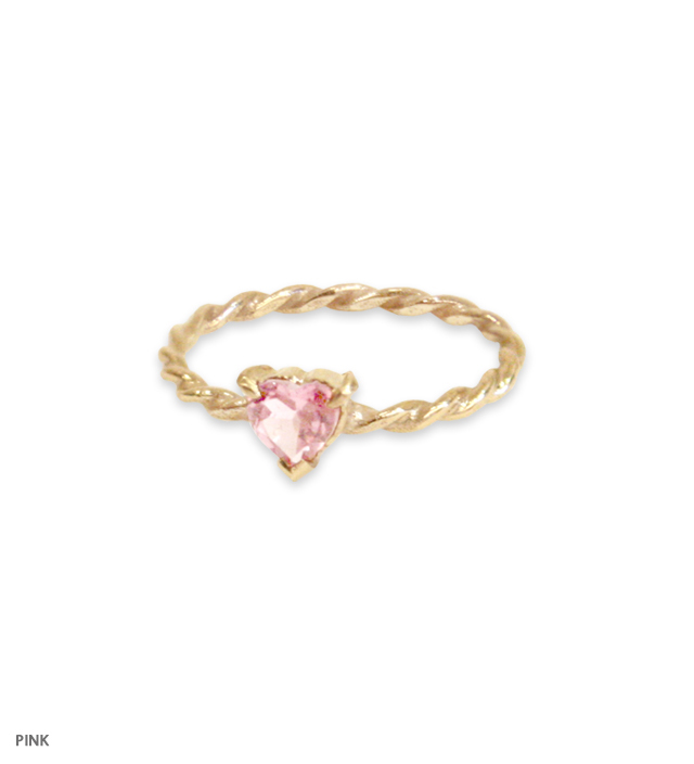 FAIRY HEART pinky ring
