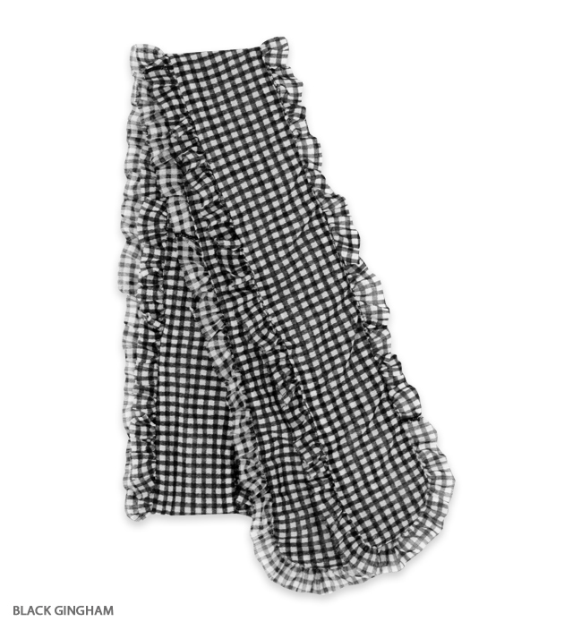FRILL ribbon tie