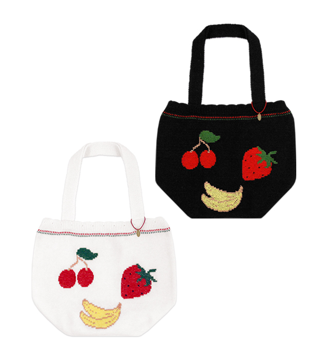 FRUITS POP knitting bag