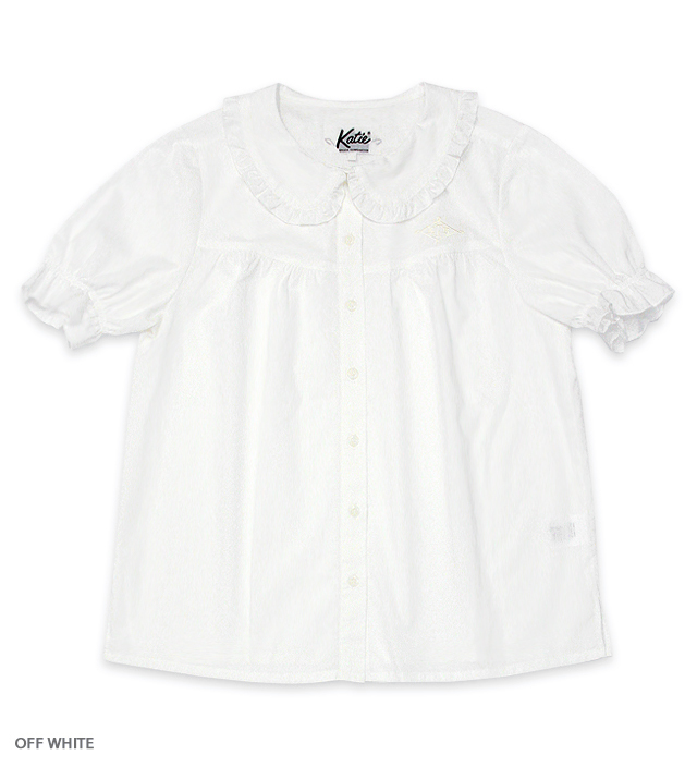 GIRL-SITS! puff blouse