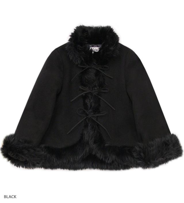 HIPPIE GIRL ribbon coat